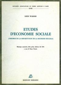 Études d'économie sociale