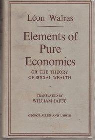 Elements of Pure Economics