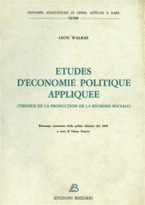 Etudes Leon Walras