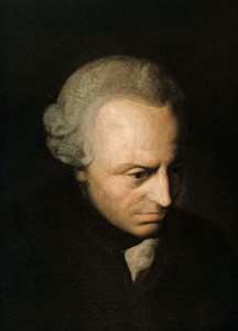 Immanual Kant (1724-1804)
