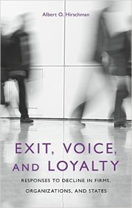 Exit, Voice and Loyalty
