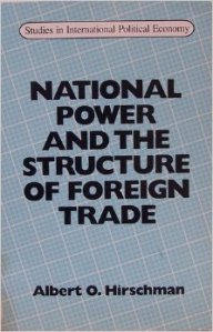 National Power and the Structure of Foreign Trade