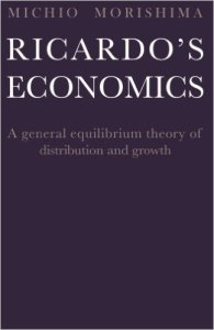 Ricardo's Economics - a General Equilibrium Theory of Distribution and Growth