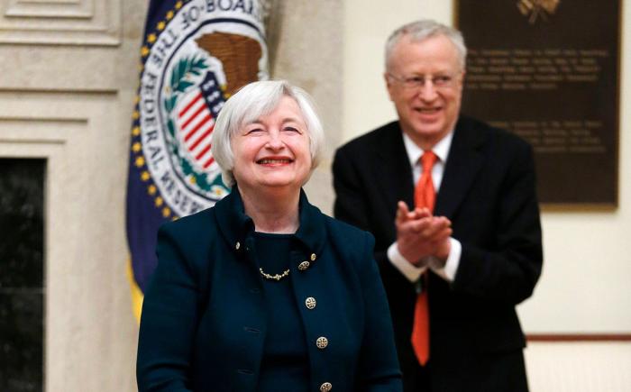 Janet Yellen và George Akerlof