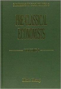 Pre-Classical Economists. Charles Davenant