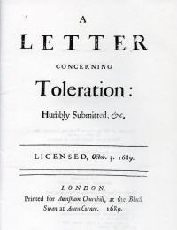 A Letter Concerning Toleration 2