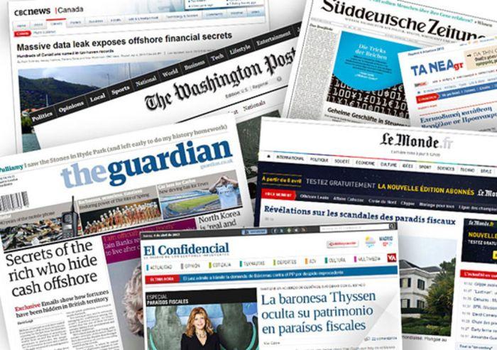 """Vào năm 2013, có ba mươi sáu phương tiện truyền thông là đối tác trong vụ điều tra quốc tế về những thiên đường thuế trong vụ """"Offshore Leaks"""", phối hợp với Hiệp hội các nhà báo điều tra quốc tế (ICIJ). ICIJ"""