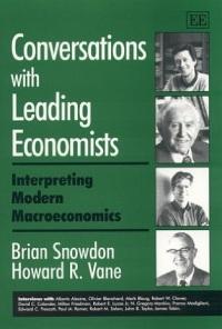 Conversations with Leading Economists. Interpreting Modern Macroeconomics