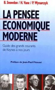 La pensée économique moderne. Guide des grands courants de Keynes à nos jours
