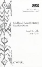 Southeast Asian Studies - Reorientations